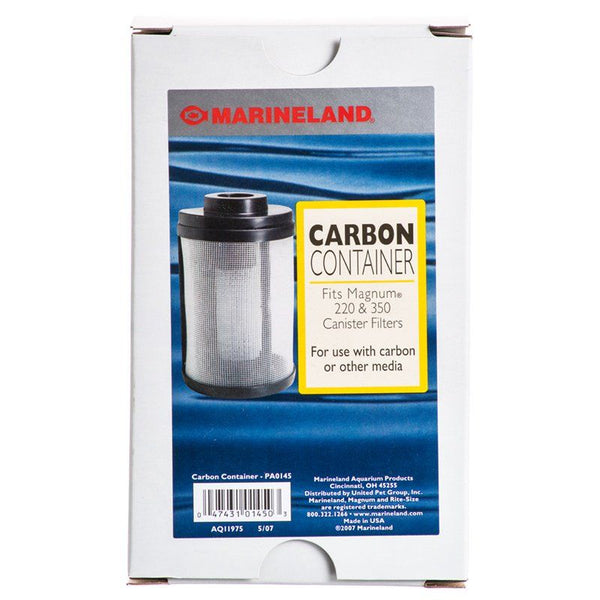 Marineland Magnum Carbon Container.