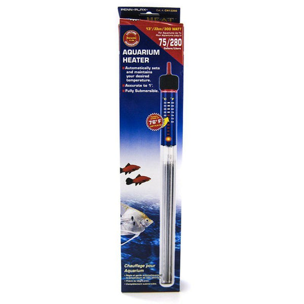 Penn Plax Cascade Submersible Heat Aquarium Heater