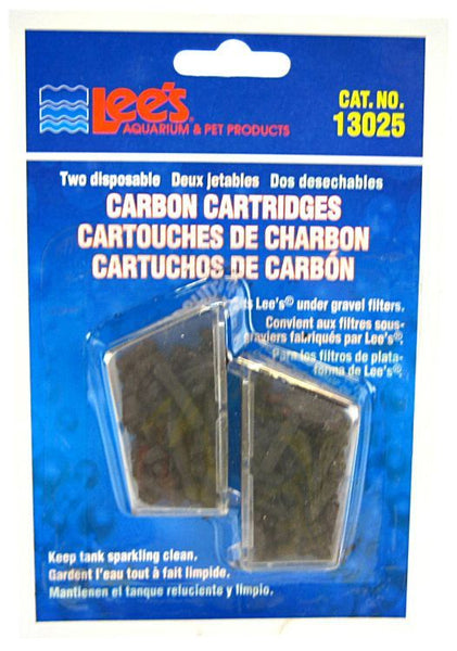 Lees Disposable Carbon Cartridges.