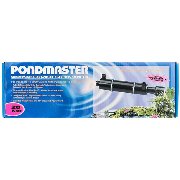 Pondmaster Submersible Ultraviolet Clarifier & Sterilizer.