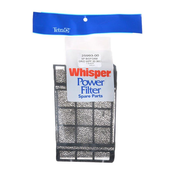 Tetra Whisper Bio Foam Grid Filter Replacement Kit.