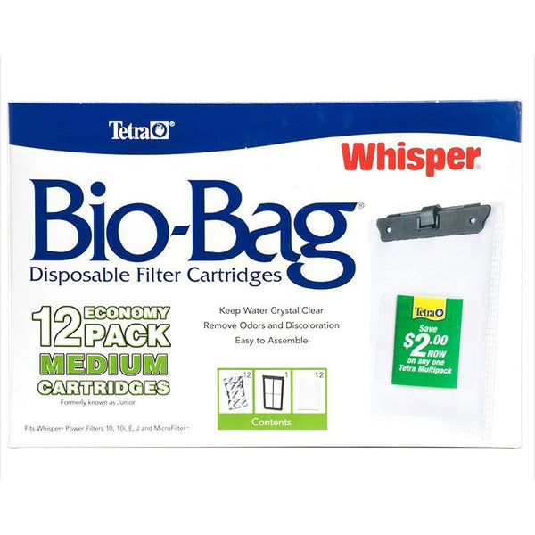 Tetra Bio-Bag Disposable Filter Cartridges.