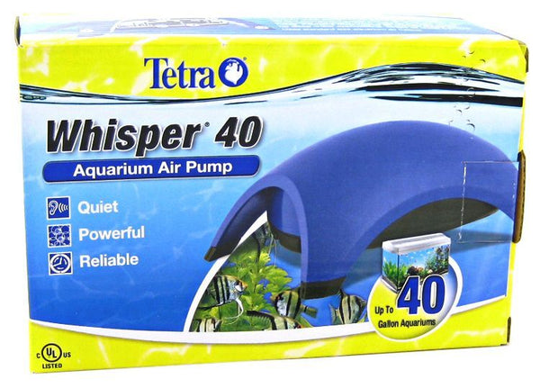 Tetra Whisper Aquarium Air Pumps (UL Listed)