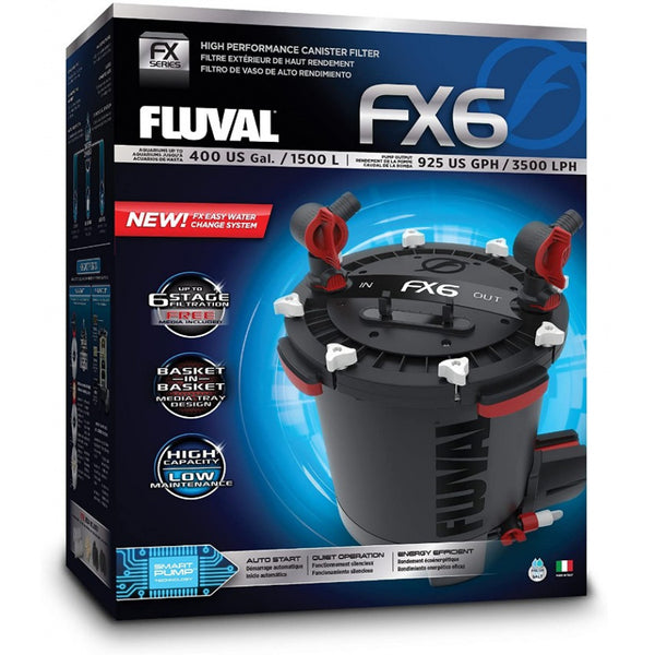Fluval FX6 Aquarium High Performance Canister Filter
