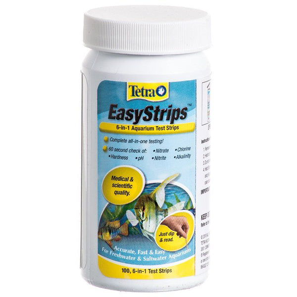 Tetra EasyStrips 6 in 1 Ammonia Aquarium Test Strips