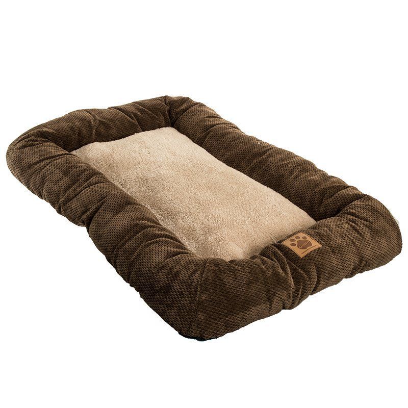 Precision Pet Mod Chic Bumper Bed - Coffee