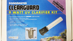 Pondmaster Clearguard Filter UV Clarifier Kit.