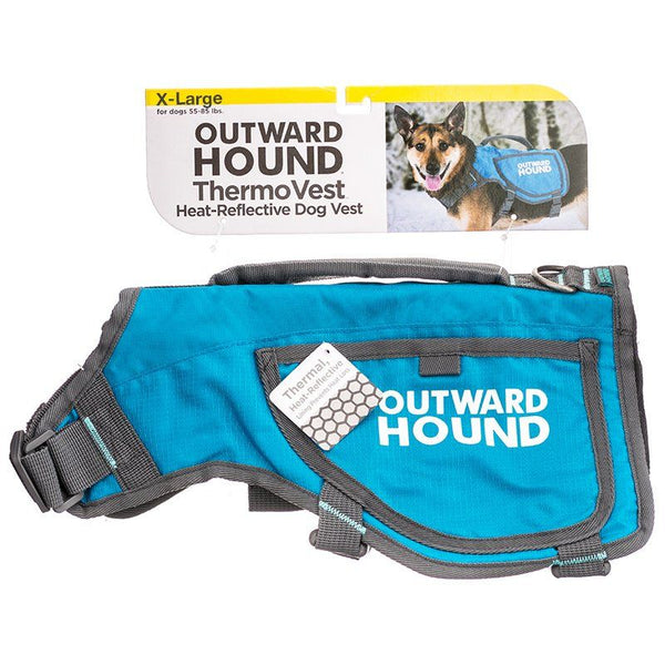 Outward Hound Thermovest Dog Vest - Blue