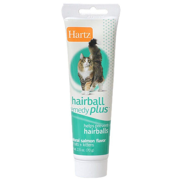 Hartz Hairball Remedy Plus Cat & Kitten Paste - Natural Salmon Flavor