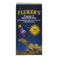Flukers Black Nightlight Incandescent Bulb