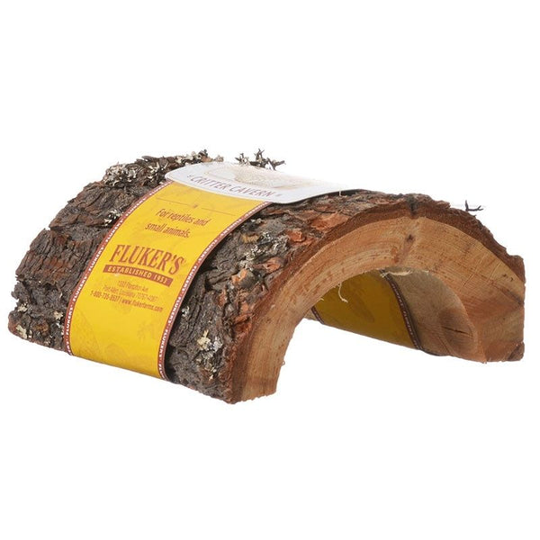 Flukers Critter Cavern Half-Log
