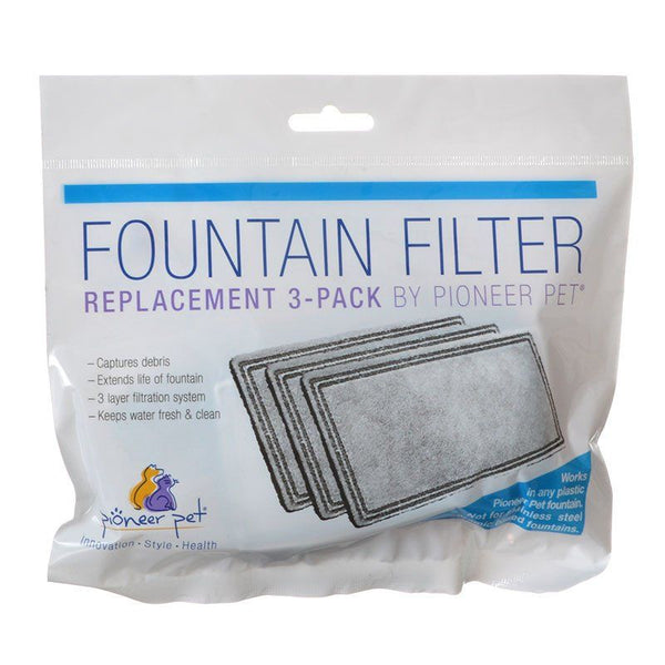 Pioneer Replacement Filters for Plastic Raindrop and Fung Shui Fountains.