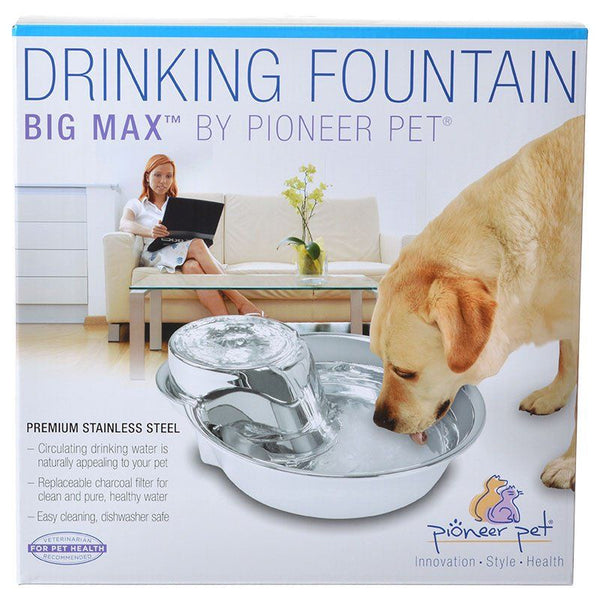 Pioneer Big Max Stainless Steel Drinking Fountain.