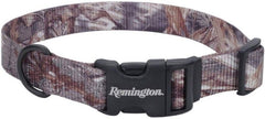 Remington Adjustable Patterned Dog Collar - Mossy Oak Duck Blind