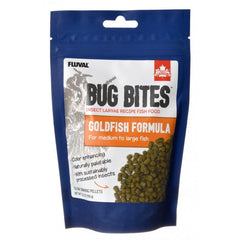 Fluval Bug Bites Goldfish Formula Pellets for Medium-Large Fish