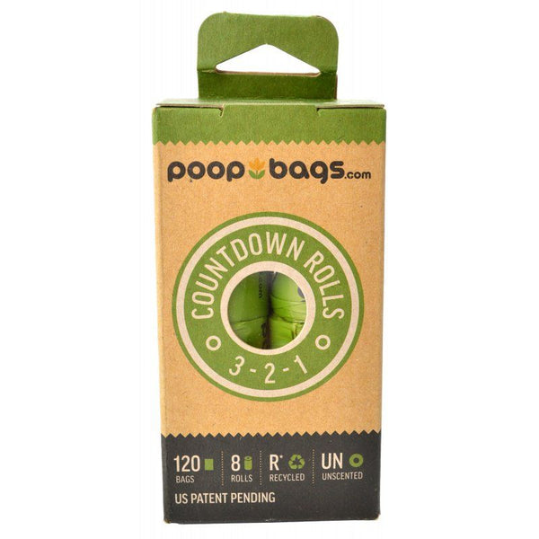 PoopBags Countdown Rolls - Unscented.