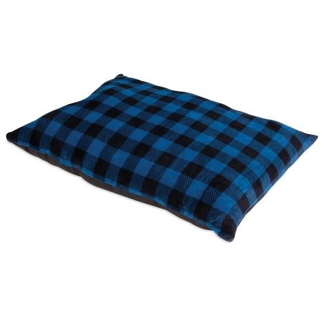 Petmate Tartan Plaid Pillow Bed - Assorted Colors.