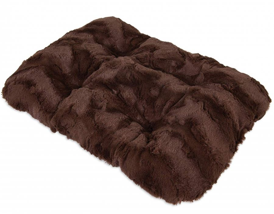 Precision Pet Cozy Comforter Kennel Mat - Brown