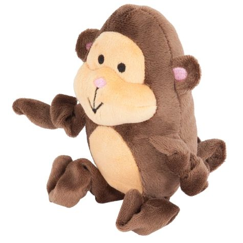 Petmate Zoobilee Stretchies Monkey Dog Toy.