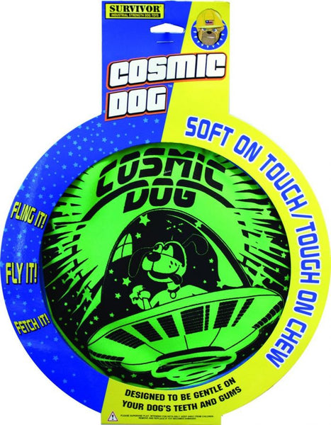 Petsport Cosmic Dog Disc Toy.