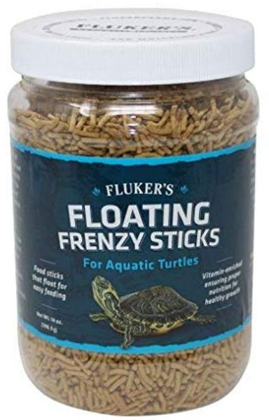 Flukers Floating Frenzy Sticks for Aquatic Turtles