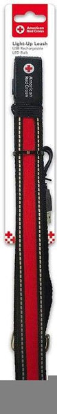 Penn-Plax American Red Cross LED Dog Leash.