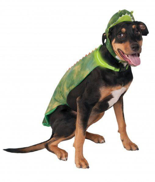Big Dogs Light-Up Dino Cape Pet Costume