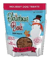 Christmas Bark Turkey & Cranberries Dog Treat Recipe