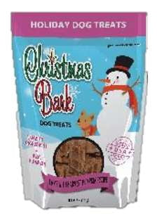 Christmas Bark Lamb Dog Treats.
