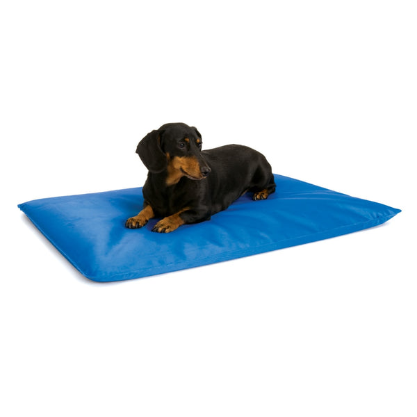 "K&H Pet Products Cool Bed III Thermoregulating Pet Bed Small Blue 17"" x 24"" x 0.5"""