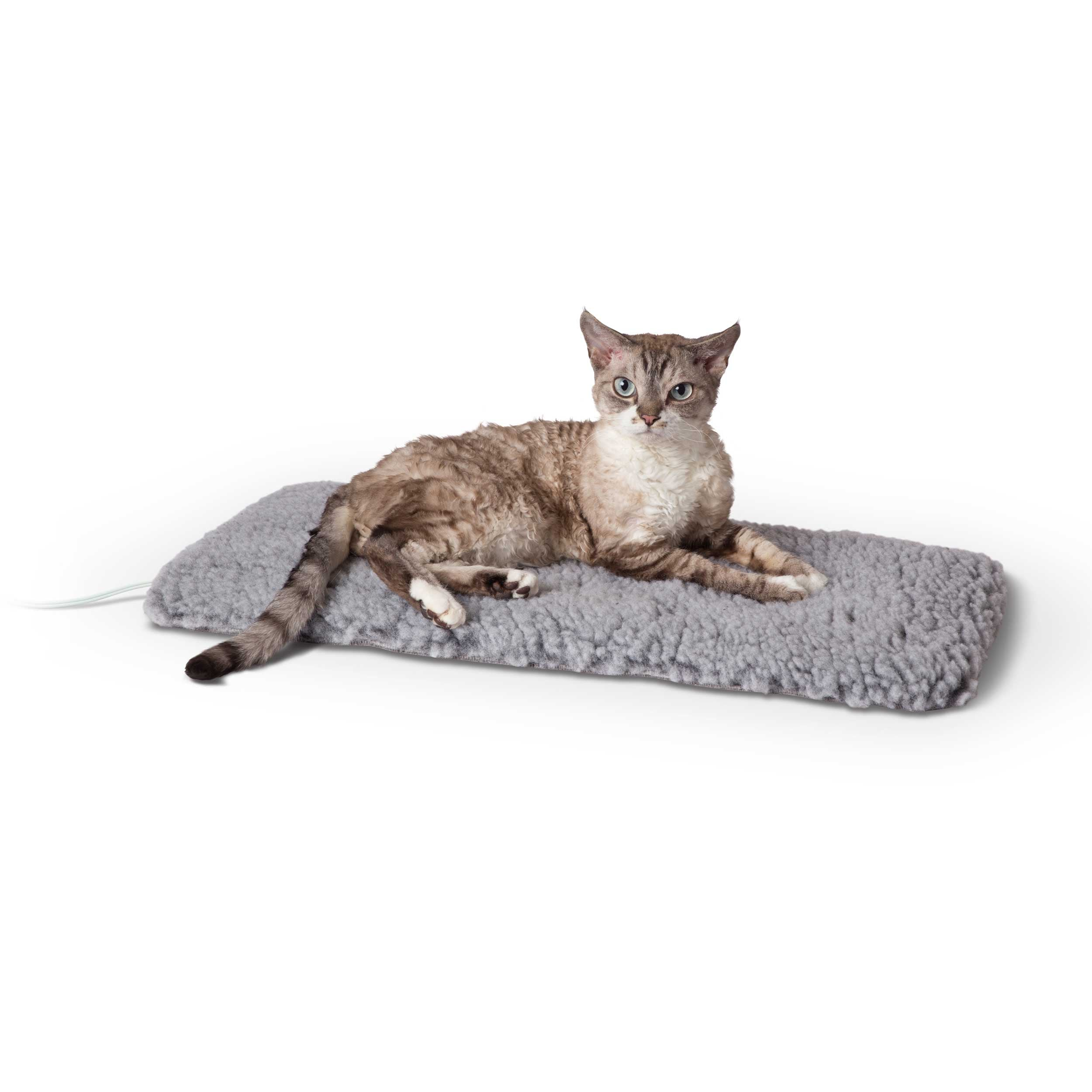 "K&H Pet Products Thermo-Plush Pet Pad Small Gray 12.5"" x 25"" x 1"""