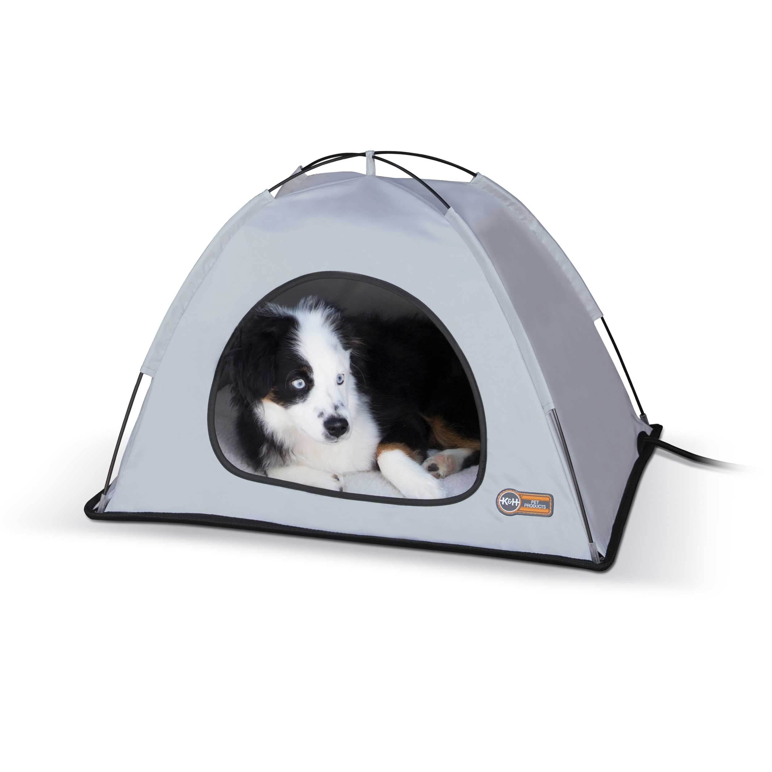"K&H Pet Products Pet Thermo Tent Medium Gray 26.5"" x 30.5"" x 14"""