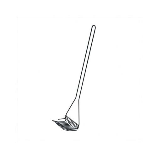 Midwest Waste Rake Pooper Scooper Black