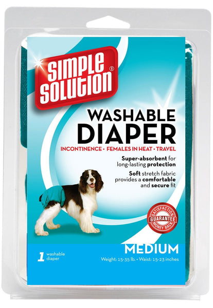 Bramton Simple Solution Washable Diaper Size Medium.