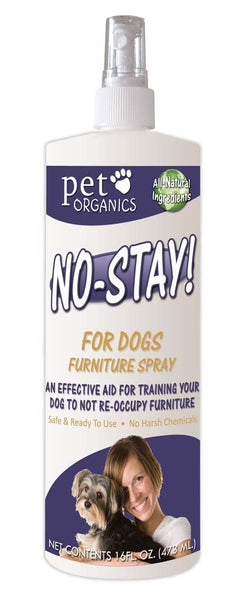 Pet Organics No Stay Furniture Spray for Dogs 16oz.