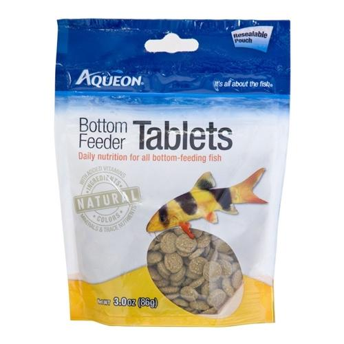 Aqueon Bottom Feeder Tablets Resealable Pouch 3oz.