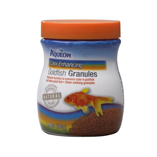 Aqueon Color Enhancing Goldfish Granules 3oz - Leaderpetsupply.com