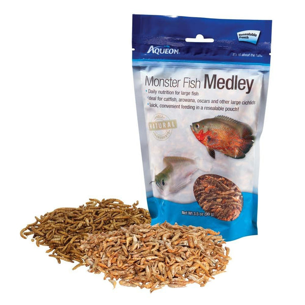 Aqueon Monster Fish Medley Food 3.5oz.
