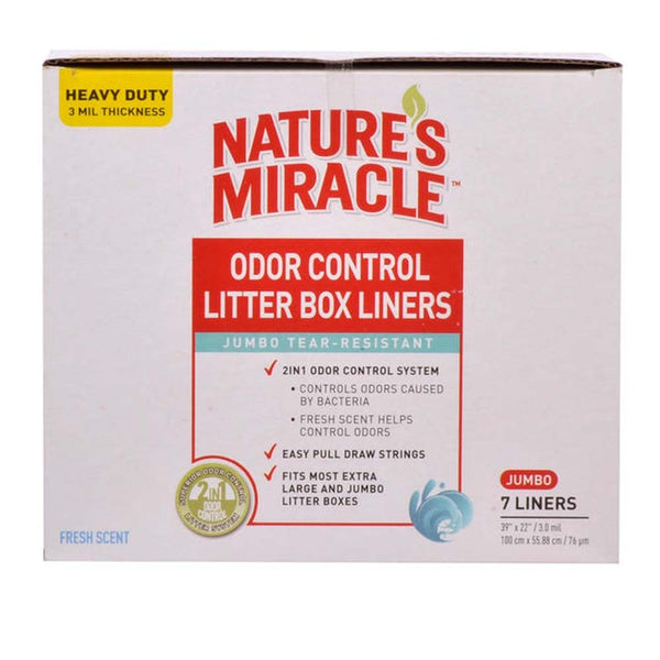 Nature's Miracle Pan Liners, Jumbo 7 ct