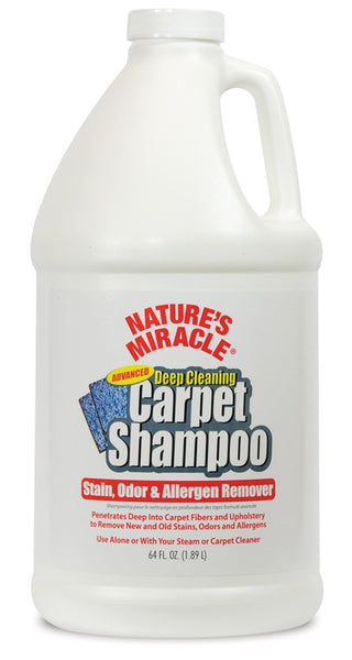 Natures Miracle Deep Cleaning Carpet Shampoo 64oz.