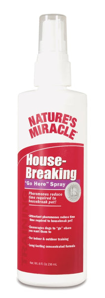 Natures Miracle Housebreaking Go Here Spray 8 oz.
