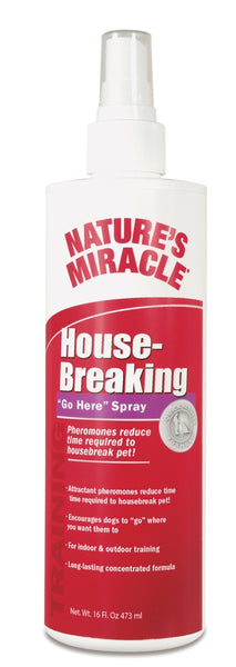Natures Miracle Housebreaking Go Here Spray 16 oz.