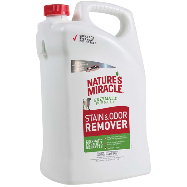 Nature's Miracle Stain & Odor Remover AccuShot Refill 170oz.