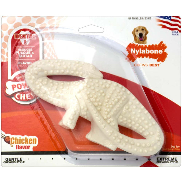 Nylabone DuraChew Dental Dinosaur Original Blister Card
