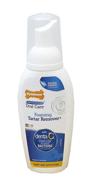 Nylabone Advanced Oral Care Foaming Tartar Remover.