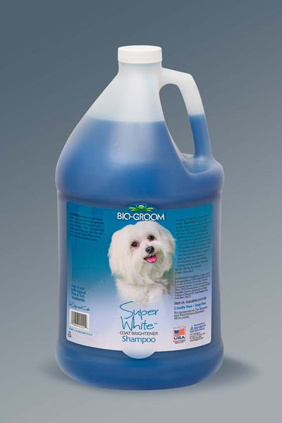 Bio-Groom Super White Shampoo 1gal.