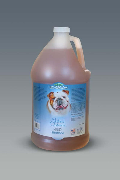 Bio-Groom Natural Oatmeal Soothing Anti-Itch Shampoo 1gal.