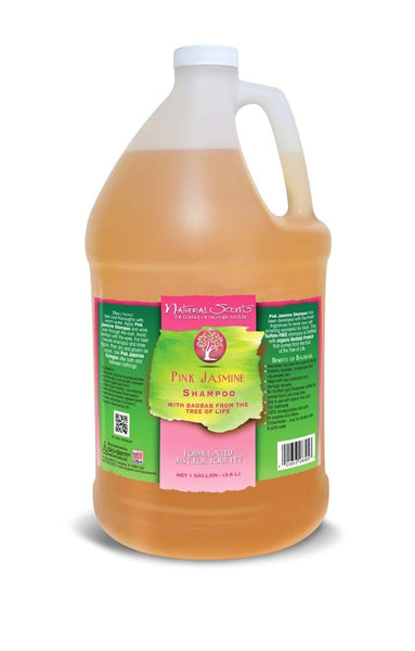 Bio-Groom Natural Scents Pink Jasmine Shampoo Gallon.
