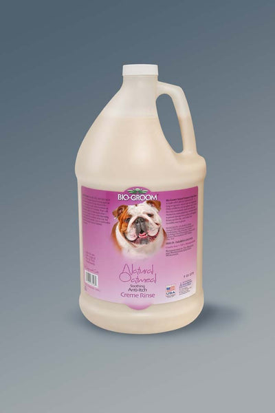 Bio-Groom Natural Oatmeal Soothing Anti-Itch Creme Rinse 1gal.