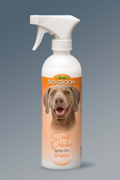Bio-Groom Coat Polish Spray-On Sheen 16oz.